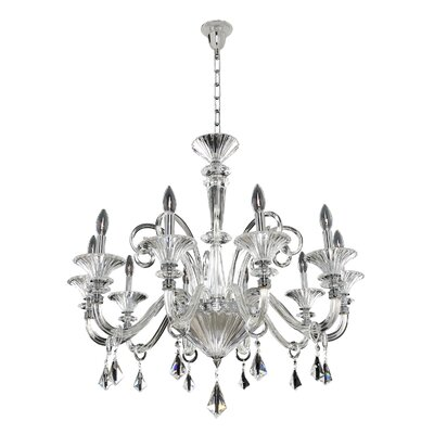 Chauvet 10-Light Candle-Style Chandelier