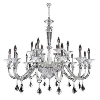 Chauvet 18-Light Candle-Style Chandelier