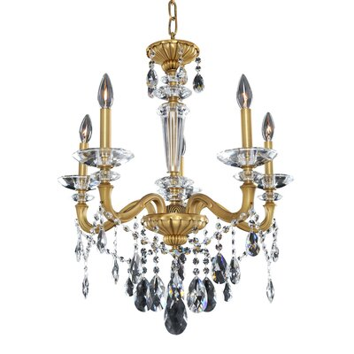 Jolivet 5-Light Crystal Chandelier