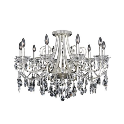 Brunetti 10-Light Crystal Chandelier