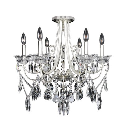 Brunetti 6-Light Crystal Chandelier