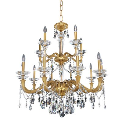 Jolivet 15-Light Crystal Chandelier