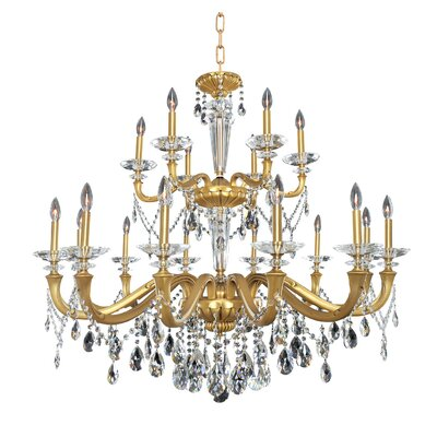 Jolivet 18-Light Crystal Chandelier