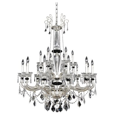 Campra 18-Light Crystal Chandelier Crystal: Firenze Clear