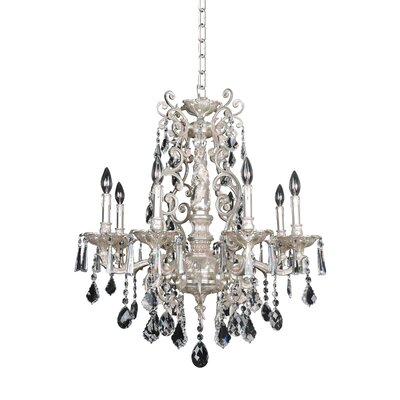 Marcello 8-Light Crystal Chandelier Crystal: Firenze Clear