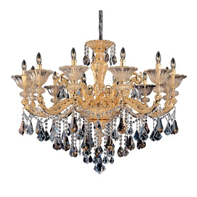 Mendelsshon 12-Light Crystal Chandelier