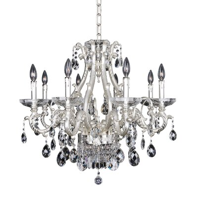 Rossi 10-Light Crystal Chandelier Crystal: Firenze Clear