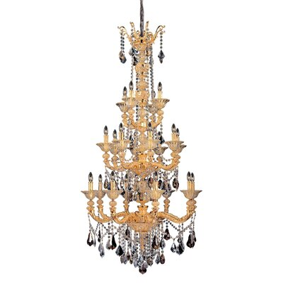 Mendelsshon 20-Light Crystal Chandelier