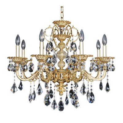 Vivaldi 8-Light Crystal Chandelier