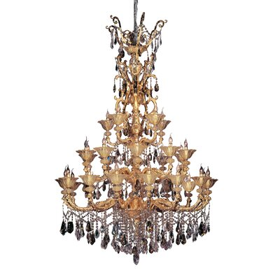 Mendelsshon 30-Light Crystal Chandelier