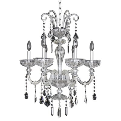 Clovio 6-Light Crystal Chandelier