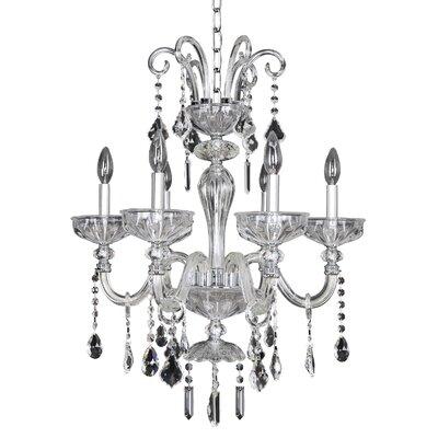 Clovio 6-Light Crystal Chandelier