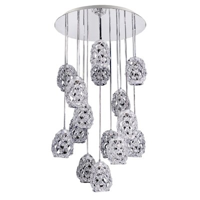 Veronese 15-Light Cascade Pendant