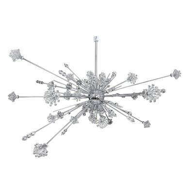 Constellation 46-Light Geometric Pendant