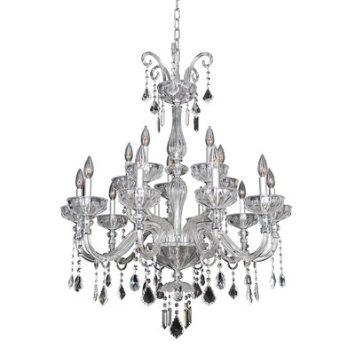 Clovio 15-Light Crystal Chandelier