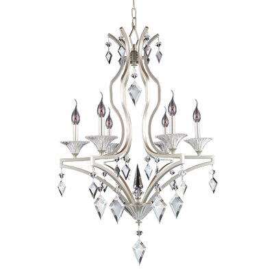 Florence 6-Light Candle-Style Chandelier