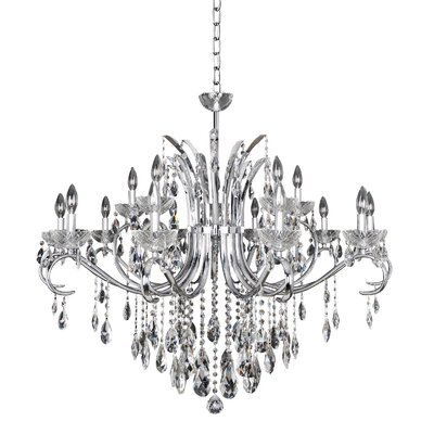 Catalani 15-Light Crystal Chandelier
