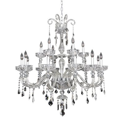 Clovio 18-Light Crystal Chandelier