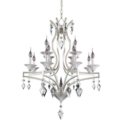 Florence 12-Light Candle-Style Chandelier