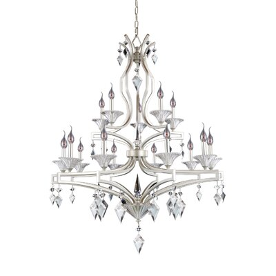 Florence 15-Light Candle-Style Chandelier