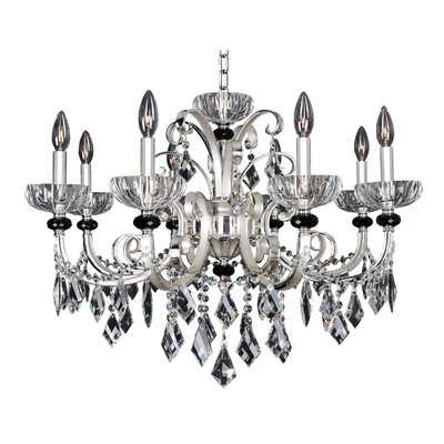 Gabrieli 8-Light Crystal Chandelier