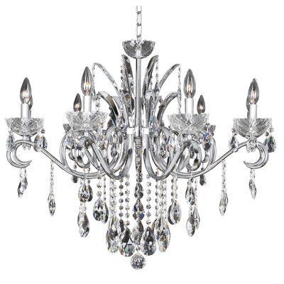 Catalani 9-Light Crystal Chandelier