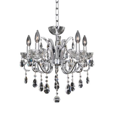 Catalani 5-Light Crystal Chandelier