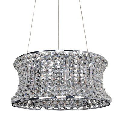 Corsette 12-Light Drum Pendant