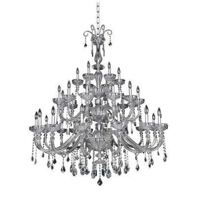 Clovio 34-Light Crystal Chandelier