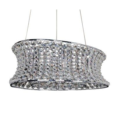 Corsette 12-Light Crystal Pendant