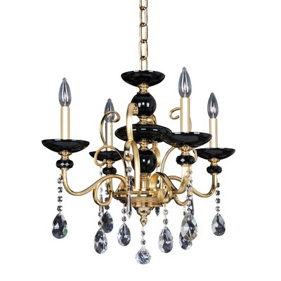 Cimarosa 4-Light Crystal Chandelier