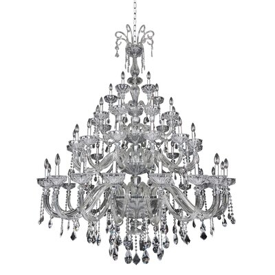 Clovio 50-Light Crystal Chandelier
