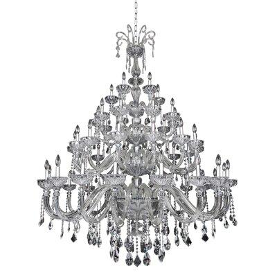Clovio 50-Light Crystal Chandelier