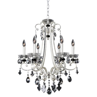 Bedetti 6-Light Crystal Chandelier