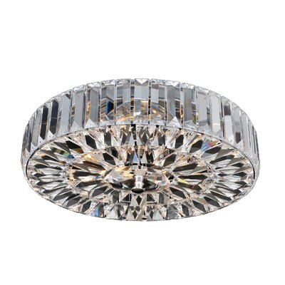 Valentin 4-Light Semi-Flush Mount Finish: Chrome