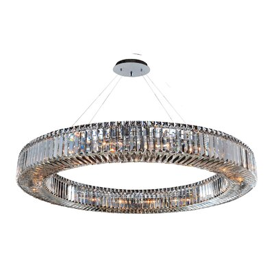 Rondelle 18-Light Drum Pendant