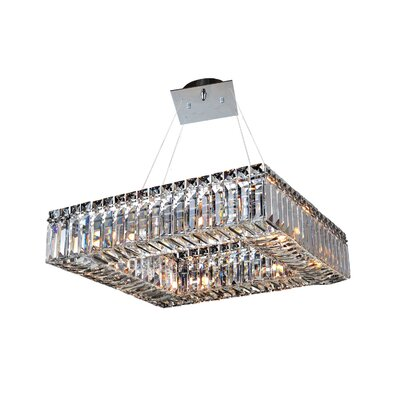 Quadro 8-Light Pendant
