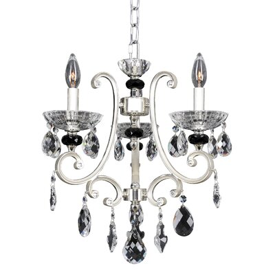 Bedetti 3-Light Crystal Chandelier