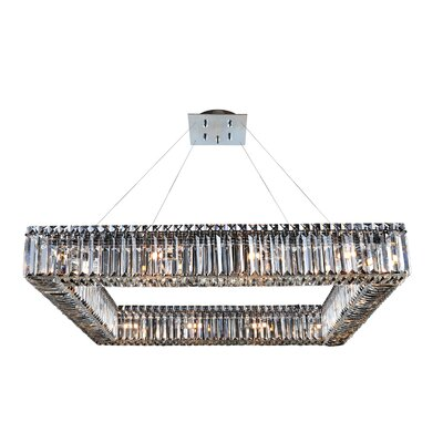 Quadro 16-Light Crystal Pendant