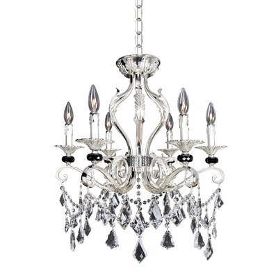 Donizetti 6-Light Crystal Chandelier