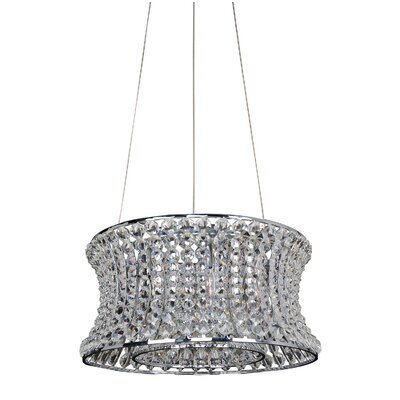 Corsette 6-Light Drum Pendant