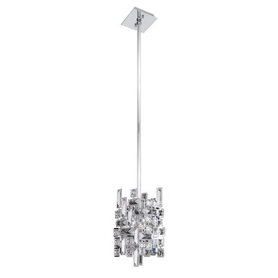 Vermeer 1-Light Mini Pendant Finish: Chrome