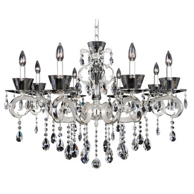 Locatelli 8-Light Crystal Chandelier Crystal: Firenze Clear
