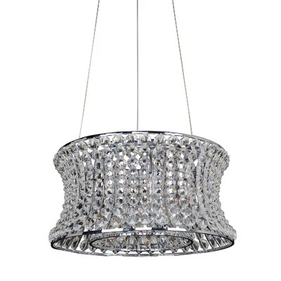 Corsette 8-Light Drum Pendant