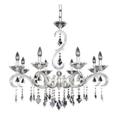Scarlatti 8-Light Candle-Style Chandelier