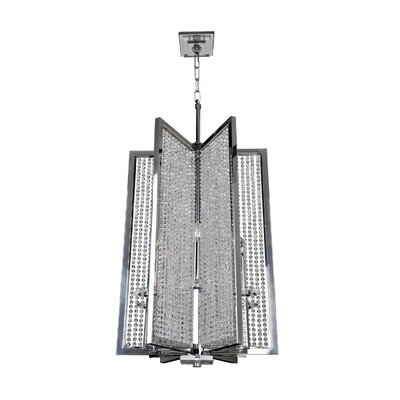 Rockefeller 6-Light Candle-Style Chandelier Size: 43.5 H x 20 W