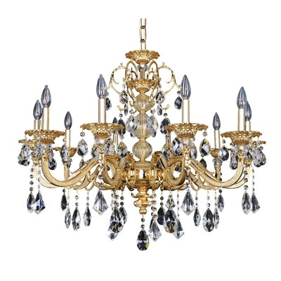Vivaldi 10-Light Crystal Chandelier