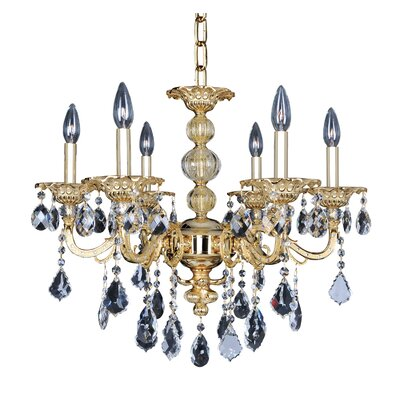 Vivaldi 6-Light Crystal Chandelier