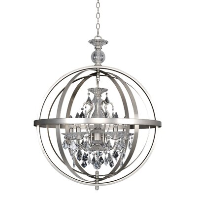 Catel 5-Light Globe Pendant
