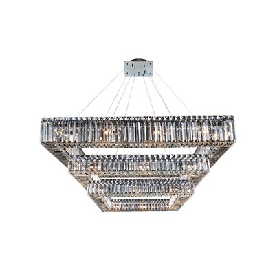 Quadro 36-Light Crystal Pendant